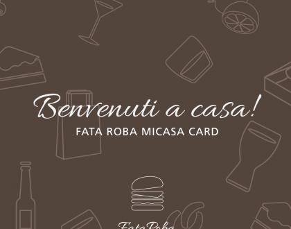 Nuovo Concorso Fidelity Card Fata Roba