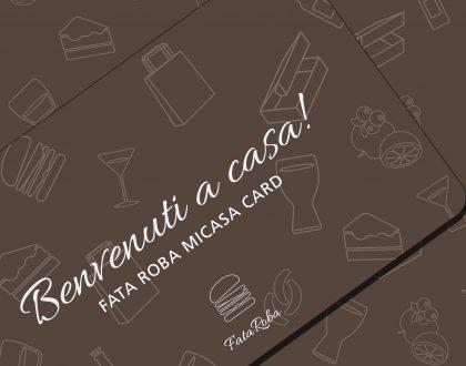 OFFERTA LAST MINUTE PER LE FATA ROBA MICASA CARD!