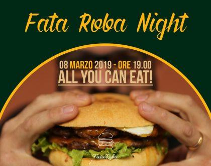 Fata Roba Night: Festeggia con noi l'anniversario!