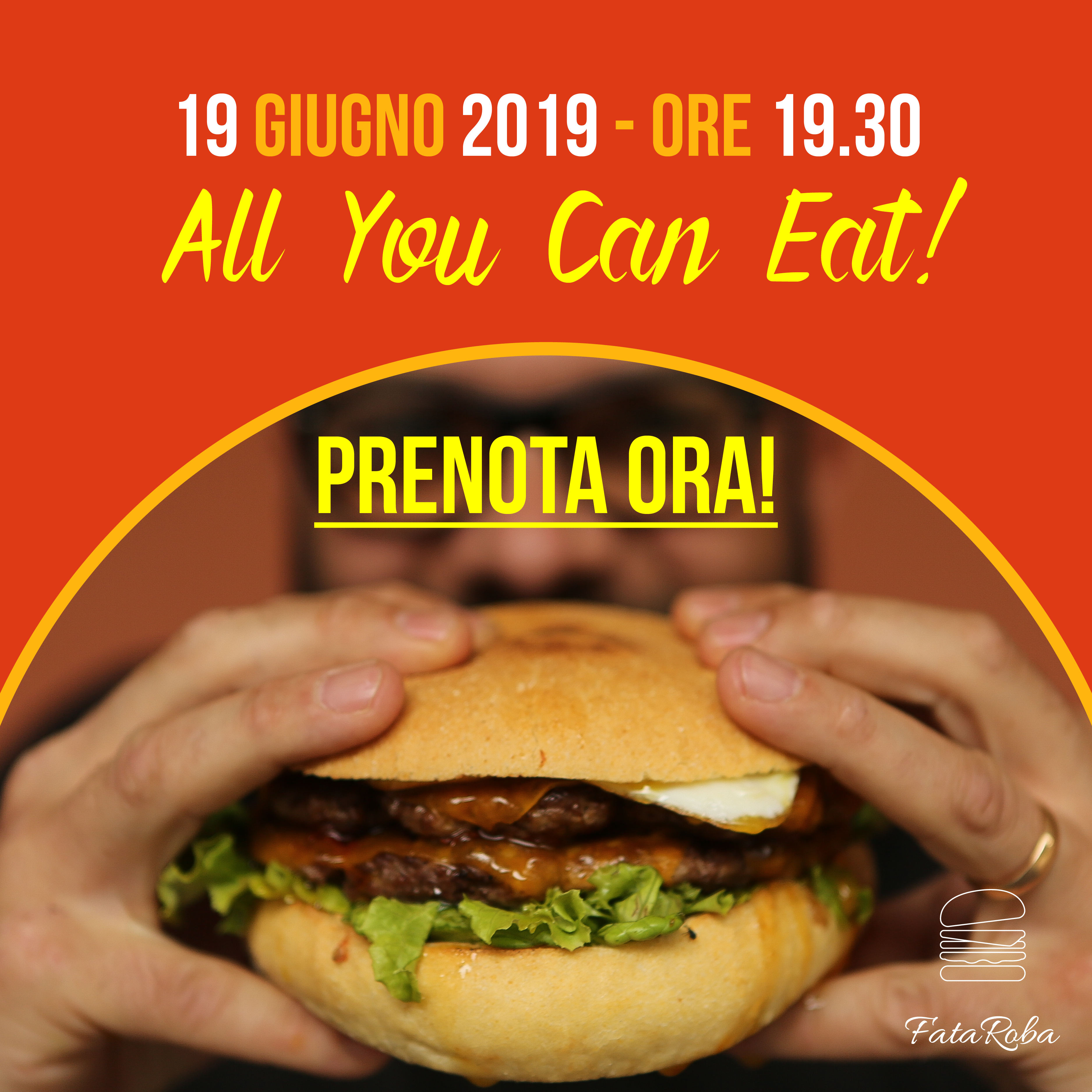 19 giugno all you can eat