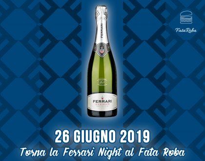 Festeggiamo con la Ferrari Night l'inserimento in Guida