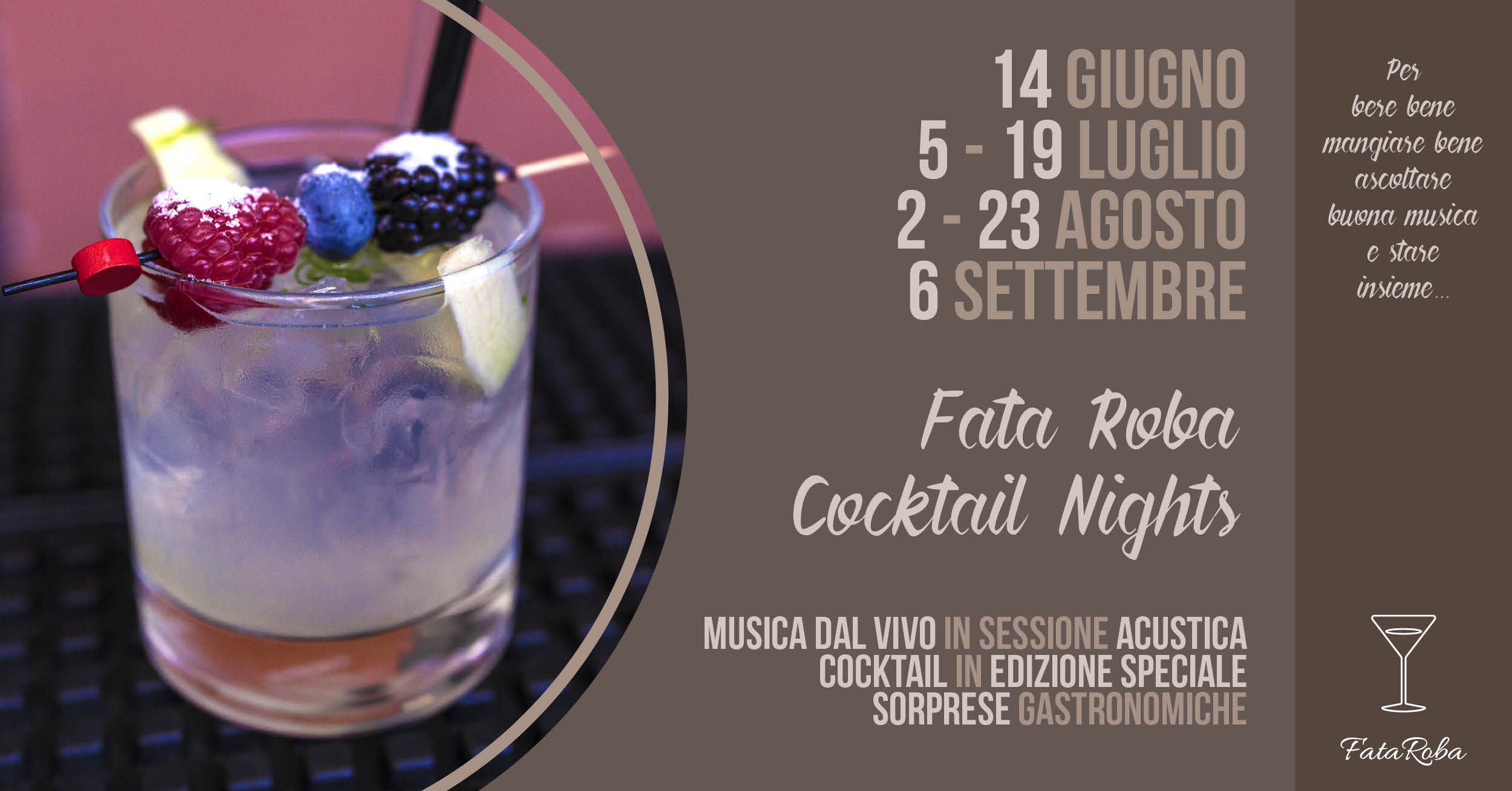 Fata Roba Cocktail Nights