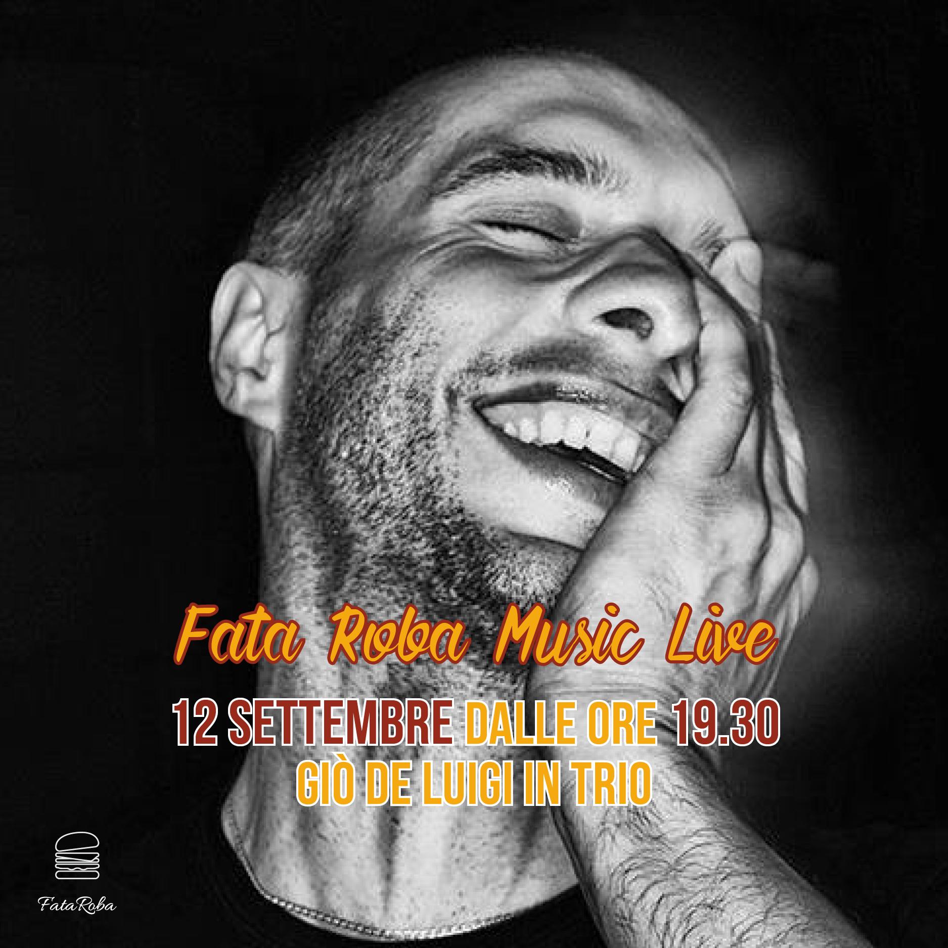 Fata Roba Music Live 12 Settembre